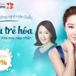 OFF 15% Căng da mặt công nghệ Hàn Quốc: Siêu trẻ hóa – Xóa mọi nếp nhăn
