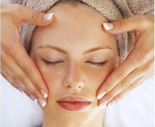 Cách massage da mặt