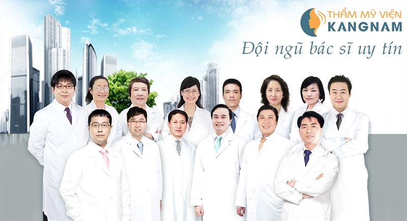 Đội ngũ bác sĩ uy tín, tận tâm thẩm mỹ viện Kangnam