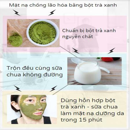 cách làm mặt nạ chống nhăn da
