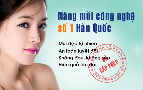 nang mui so 1 han quoc